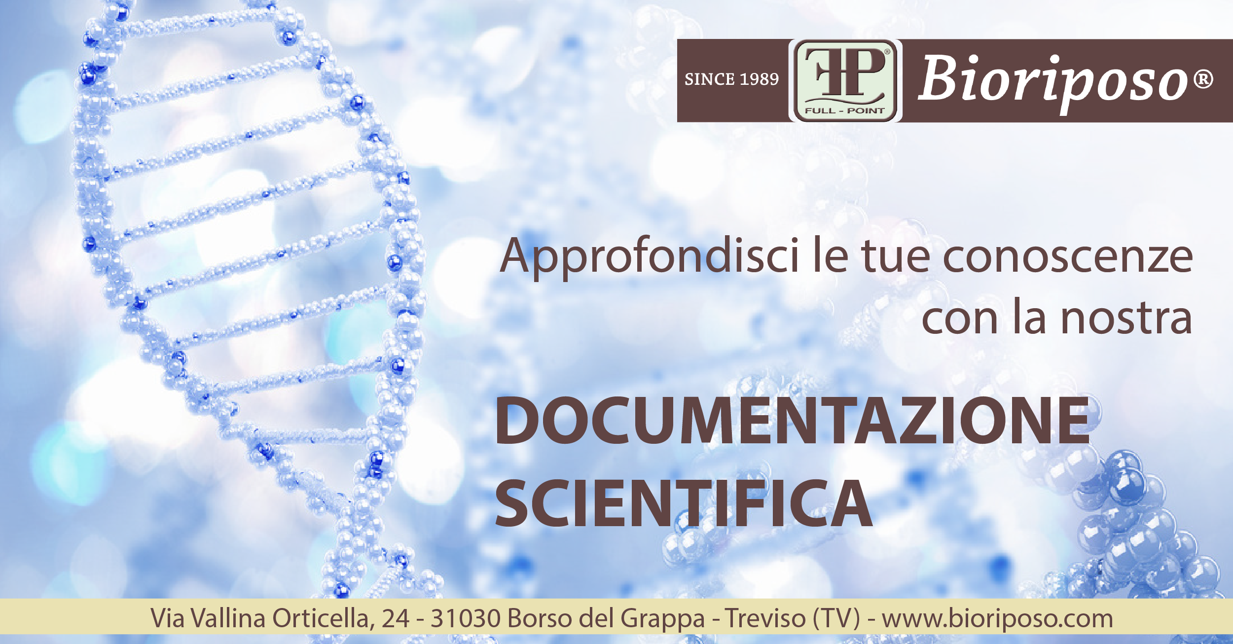 Documentazione scientifica e approfondimenti